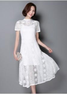 GSS6617 Casual-2pcs-Dress