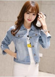 GSS1601 Casual-Denim-Jacket light-blue,dark-blue $17.25 40XXXX4266015-LA1LVE11-A
