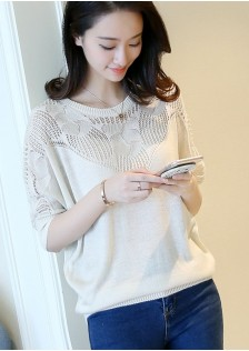 GSS4803 Casual-Blouse gray,white,pink,black $18.20 42XXXX4279883-NU2LV202-B