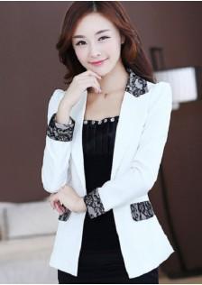 GSS9306 Office-Coat white,yellow,black $19.98 50XXXX4388617-BA3LV339-G