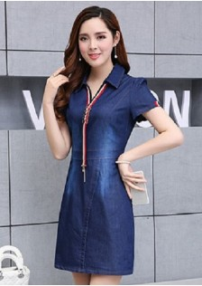 GSS201 Casual-Denim-Dress*