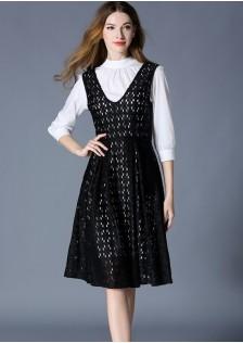 GSS6176 Office-2pcs-Dress*