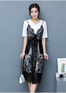 GSS5018 Casual-2pcs-Dress*