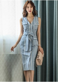 GSS7348 Office-Dress blue,white $25.53 75XXXX4991506-LA1LVE49-A