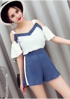GSS256 Casual-Top+Shorts*