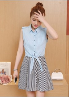 GSS8868 Casual-2pcs-Dress*