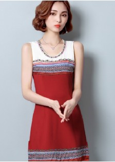 GSS935 Casual-Dress red $18.42 43XXXX4903852-FL4LVD4023