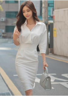 GSS0332 Office-Dress white ***