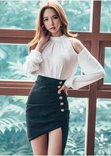 GSS0376 Evening-Top+Skirt *