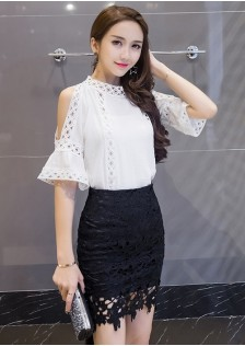 GSS9220 Casual-Top+Skirt*