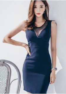 GSS7897 Evening-Dress blue,white $23.31 65XXXX2352488-LA1LVE49-A