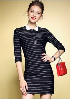 GSS5979 Office-Dress black,blue $21.09 55XXXX2770413-BA3LV338-D2