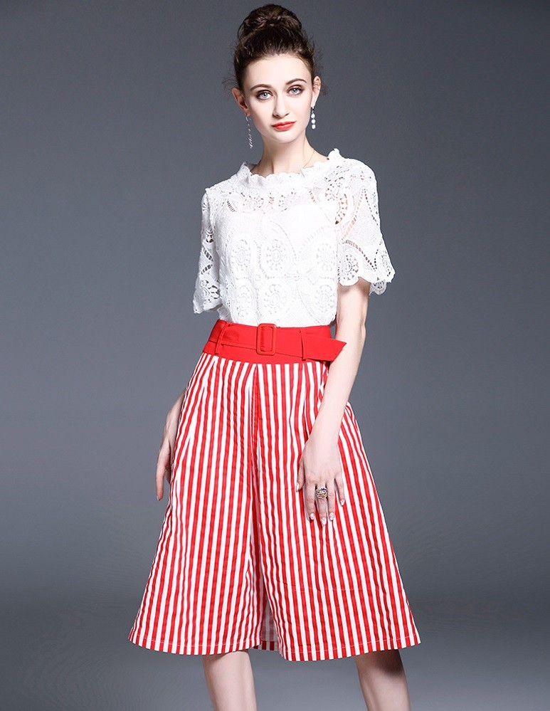 GSS1108 Office-Top+pants *