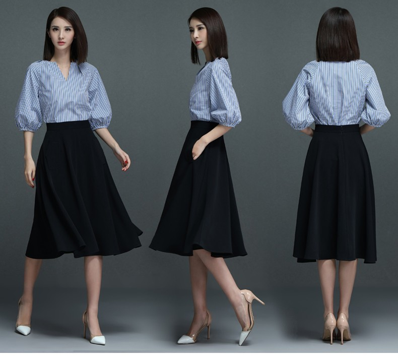 GSS6912 Office-Top+Skirt black $25.53 75XXXX4679526-LA2LV-A10