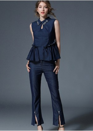 GSS5169 Office-Top+Pants. ***