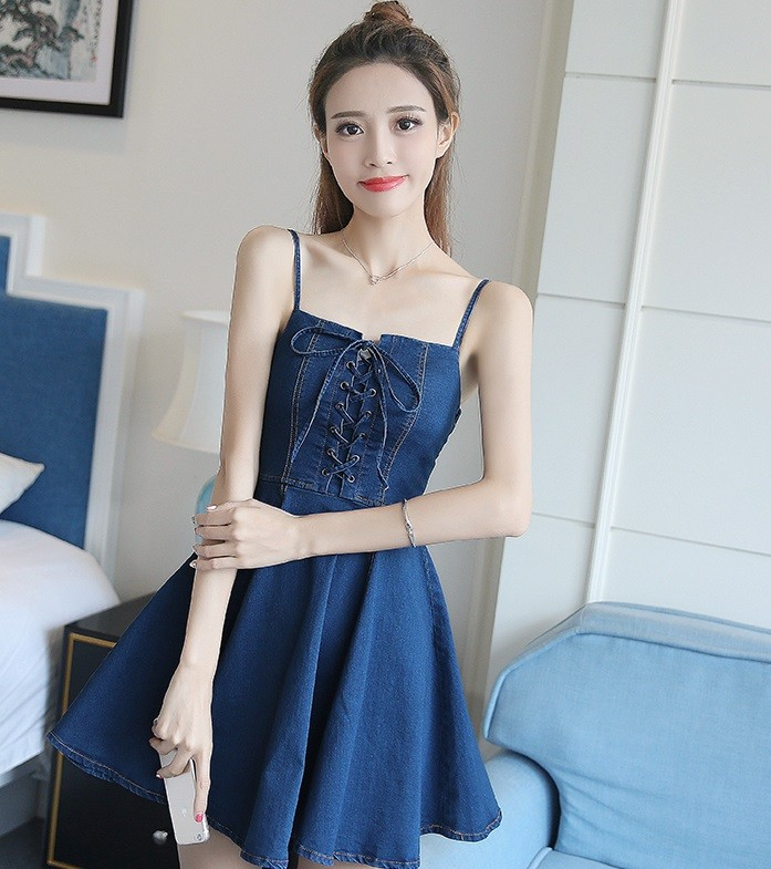 GSS9131 Denim-Dress*