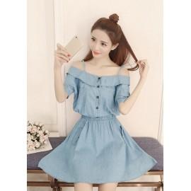 GSS618 Denim-Dress*
