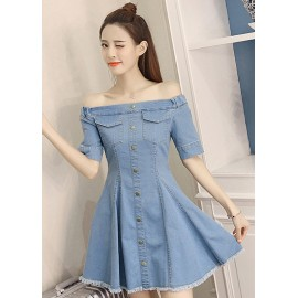GSS624 Denim-Dress*