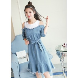 GSS5289 Denim-Dress.