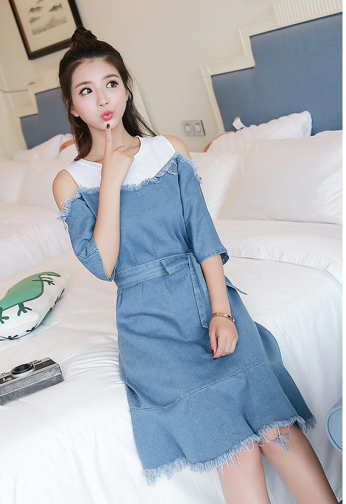 GSS5289 Denim-Dress*