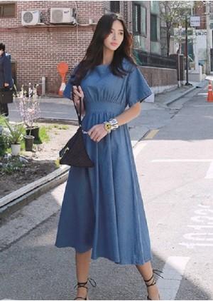 GSS1809 Denim-Dress.