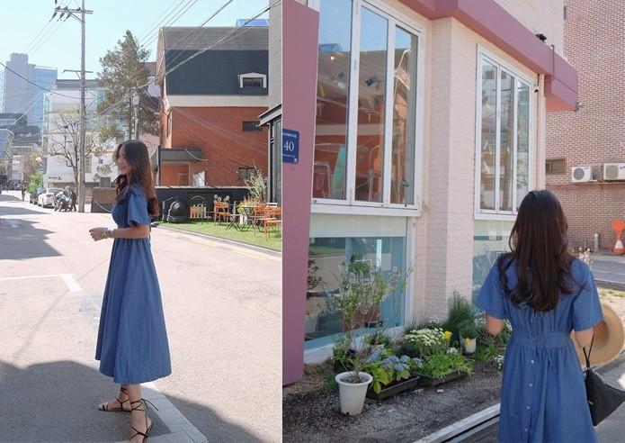GSS1809 Denim-Dress*