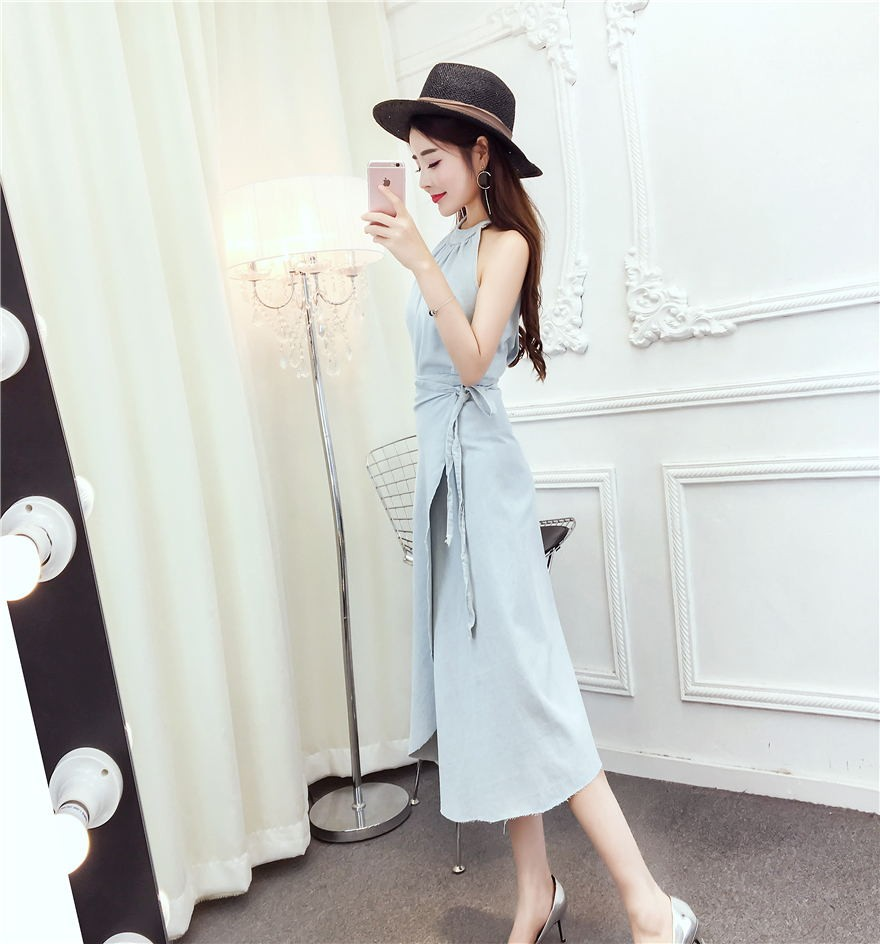 GSS8811 Denim-Dress*