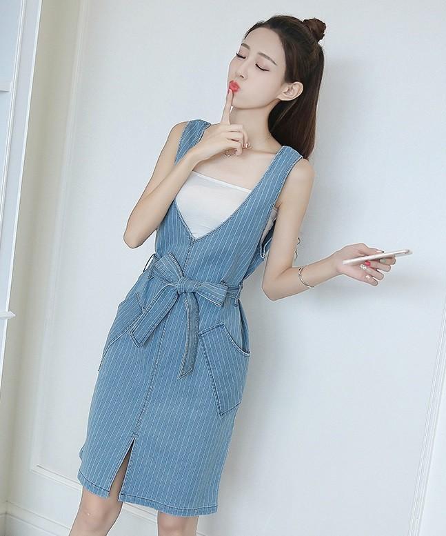 GSS9135 Denim-Dress*