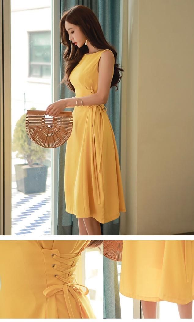 GSS807 Office-Dress yellow $21.98 59XXXX5189418-LA1LV171-A
