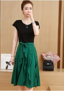 GSS5125 Casual-Top+Skirt *