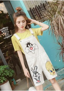 GSS8347 Casual-2pcs-Overall*
