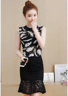 GSS9357 Office-Top+Skirt *