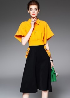 GSS3019 Office-Top+Pants *