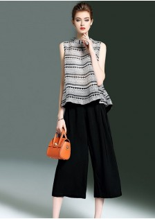 GSS9109 Casual-Top+Pants*