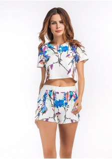 GSS372-6 Casual-Top+Shorts*