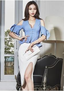 GSS9157 Evening-Top+Skirt*