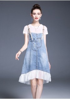 GSS1115 Casual-2pcs-Overall*