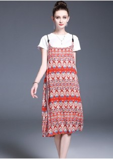 GSS1148 Casual-2pcs-Overall*
