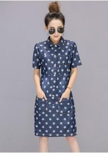 GSS1538 Denim-Dress blue $17.75 40XXXX4144605-LA5LV511