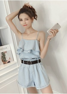 GSS6298 Casual-Top+Shorts *