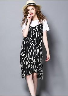GSS5173 Casual-2pcs-Dress*