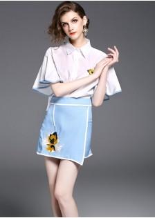 GSS5957 Office-Top+Skirt *