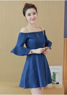 GSS8076 Denim-Dress*