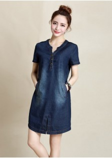 GSS858 Denim-Dress*