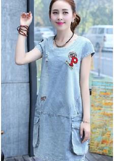 GSS1659 Denim-Dress *