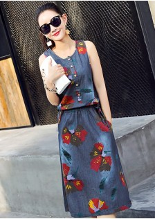 GSS8801 Denim-Dress *