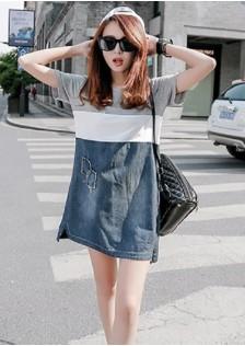 GSS8027 Denim-Dress*
