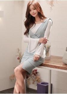 GSS218852 Office-2pcs-Dress*