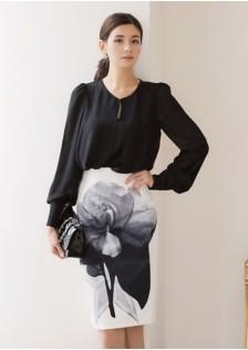 GSS218367 Office-Top+Skirt *