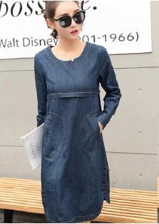 GSS5033 Denim-Dress*